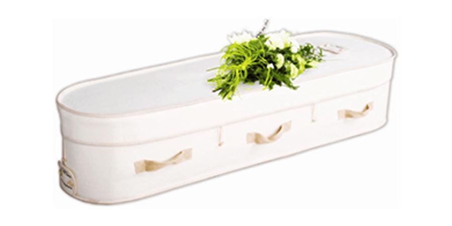 Woollen coffin